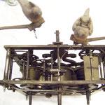 Uhrwerk eines 180 Jahre alten Kuckuck