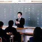 2009.11 津軽石中学校講師