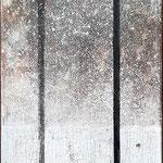 Laterne, Laterne; Mischtechnik, Acryl, Transfer; 30 x 100 cm