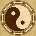 Intarsie Yin Yang