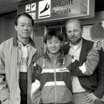 Ankunft Susi Liu Jia