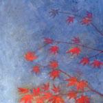 「楓」  2008.1  F10号 絹本着彩