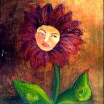 女は喋る花