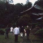 夕暮れの弘仁寺。静かなる一時