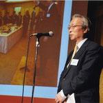 東京奈良県人会の活動状況報告植嶋さん