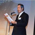 大会宣言大阪奈良県人会中井会長