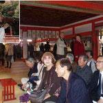 談山神社にて。特別解説をいただく