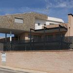 Composición volumétrica de fachada