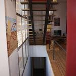Detalle de escalera interior