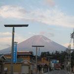 29日 早朝の富士