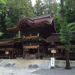 秋宮幣拝殿