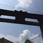 吉野 銅鳥居