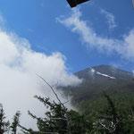 5合目からの富士山