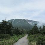 23日田の原より御嶽山を望む
