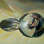 ESPINAS LUNATES. Óleo sobre tela. 80 x 100 cm. Jorge Luna