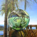 REVERSIBLE. Óleo sobre tela, 180 x 150 cm. Jorge Luna