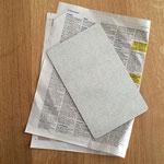 Luft, Zeitung, Luftdruck, Experiment kleine Forscher