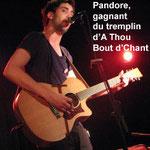 Pandore gagne le tremplin d'A Thou Bout d'Chant