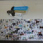 Wand im Konferenzraum