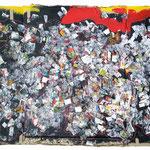Animosité - Collage et technique mixte - 2015 - 80x120cm