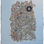 - Collage et technique mixte - 2015 - 147x107.5cm
