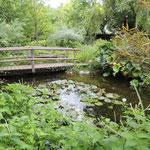 Jardin de Marguerite visité par Régine