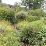 Jardin de Berchigrange visité par Régine