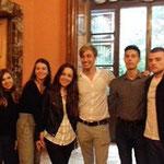 Еразъм + в Българското посолство в Рим
