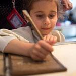 """Снимки на документалния филм""""Образованието в римската провинция Тракия""""-Museo del libro antico, Villa Adriana, Tivoli"""