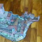 Асеновата крепост, изработена от преподавателя по история Теодор Тодоров и неговите ученици