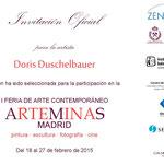 Doris Duschelbauer  Feria de arte-  Artfair - Kunstmesse Arteminas Madrid