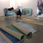 Preparing Art fair - Kunstmesse Neue ArT Dresden January 2019