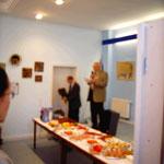 David Krugmann eröffnet die Ausstellung