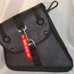 Sportster Rahmen-Tasche ab Bj.04,Alcantara/Leder verkauft