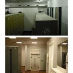 Neugestaltung eines Umkleidebereichs