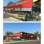 Neubau eines Biomarktes