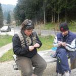 apprentissage des noeuds utiles à la pêche à la mouche