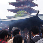 Räucherbecken/Senso-ji