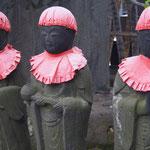 Jizo-Figuren
