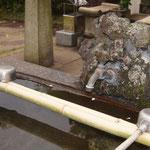 Reinigungsbecken/Tenno-ji