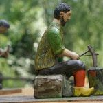 sculture e lavori (foto U. Manzoni)