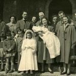battesimo in Alta Valle Brembana (archivio A. Santi)
