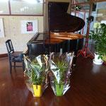 会場ピアノ