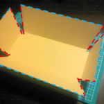 折りたたみ式トレイ/カルトナージュの作り方/手順_03-1
