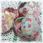 Macaloon Boxes, handmade, LIBERTY print ©Atelier Z=Grace