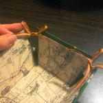 折りたたみ式トレイ/カルトナージュの作り方/手順_09