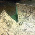 折りたたみ式トレイ/カルトナージュの作り方/手順_07