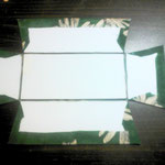 折りたたみ式トレイ/カルトナージュの作り方/手順_02-1