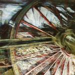 Traum vom Fahren III // 100 x 70cm // Ankauf DB Museum