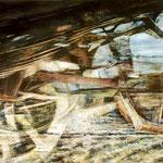 Traum vom Fahren IV // 100 x 70cm // Ankauf DB Museum